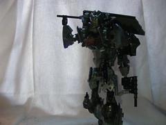 The Adversary 13 (quartzroolz) Tags: quartz roolz moc big burly man bionicle robot toa titan android bustersword guns skull spider mask god thats alot over design