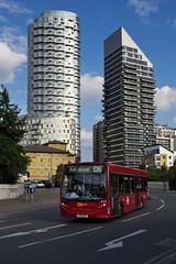 Docklands Buses SE118 YX61BXZ Route D6 Blackwall (TfLbuses) Tags: tfl public transport for london red buses alexander dennis enviro 200 docklands go ahead