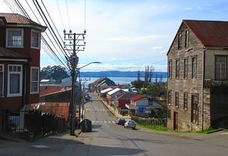 Calles Chonchi,isla grande ,Chiloe