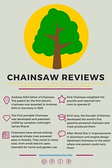 Best Chainsaw Reviews for 2016 (infohgrafik) Tags: photo garden tools chainsaw landscape infographics