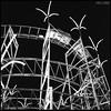 Coaster (James Mundie) Tags: jamesmundie jamesgmundie profjasmundie jimmundie mundie copyright©jamesgmundieallrightsreserved copyrightprotected blackandwhite blancetnoir noir black monochrome monochromatic bw blancoynegro biancoenero schwarzweis mediumformat squareformat 120mm 120film 6x6 film analog hasselblad500cm carlzeiss mittelformat carlzeissplanar80mm planart2880 hasselblad500 500series vsystem hasselbladvsystem palaceplaylandamusementpark old orchard beach oldorchardme maine downeast rollercoaster