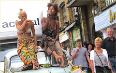 `1790 (roll the dice) Tags: london camden nw1 londonist winehouse mad sad funny couple pretty sext bikini bra sexy girls boob nipple vocals sing band summer hot sunny reaction people natural strangers portrait candid wisdom car streetphotographyy fashion market shops shopping morrisminor unconventional feet bohemian uk art classic urban england unaware unknown happy candy groove rare drink clap hair laughter canon tourism vest