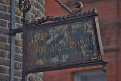 Margate September 2016 111 (paul_appleyard) Tags: margate thanet kent september 2016 rusty old sign parish church