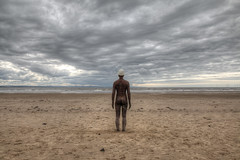 3948 Gormley Statue (andy linden) Tags: crosby beach anthony gormley statue 3948