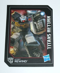 rewind transformers generations titans return legends class hasbro 2016 k collector card front (tjparkside) Tags: rewind transformers generations titans return legends class hasbro 2016 mosc autobots autobot transformer tank gun blaster cannon weapon weapons spy tablet vehicle g1 g one 1 generation cassette cassettes black gold silver triple change changer robot