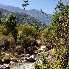 Paseo pre fiestas patrias con los amigos  #chile  #outdoors #tourism #travel #trekking #hiking #total_chile  #chile_greatshots  #chile_shots  #senderismo #chile_hd_shots #chile_a_pie #chile_natural #naturaleza  #turismorural #turismo #nature #mountain #mo (claudio_viajero) Tags: instagramapp square squareformat iphoneography uploaded:by=instagram relax tranquilidad cerros rio rivers chile sudamerica