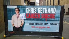 Chris Gethard Poster, Edinburgh Festival Fringe (Secondcity) Tags: edinburgh chrisgethard poster careersuicide edinburghfestivalfringe