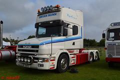 Scania T Cab 'Bryan Nunn' reg J1 RTS (erfmike51) Tags: scaniatcab artic truck lorry bryannunn swedefest2016