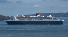 Queen Mary 2 (Ian Toms) Tags: cruiseship cruise guernsey cruiselife cruiseshiptenders guernseylife stpeterport cunard tenders guernseyharbours ship queenmary2 seacruise guernseystyle visitguernsey sea sealife