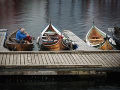 Traditional row boats (Helena Normark) Tags: rowboats woodenrowboats traditionalrowboats trondheim srtrndelag norway norge sonyalpha7ii a7ii voigtlnder cv5015 nokton5015 nokton50mmf15
