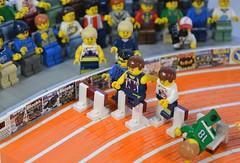 Olympics (brick.spartan) Tags: sport olympics custom minifigure running lego moc model blocks magazine