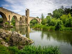 Besalu (Josich) Tags: besalu garrotxa bridge pont river rio forest bosque medieval nature landscape paisaje travel achitechture