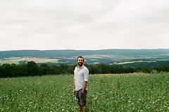 makowy panicz (greenishmagpie) Tags: praktica mtl5b film analog czech republic ceska republika poppies poppy field mak