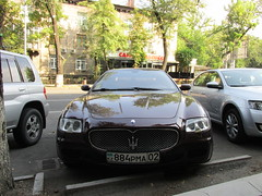 Maserati Quattroporte (stanislavkruglove) Tags: almaty  2016 car maserati quattroporte