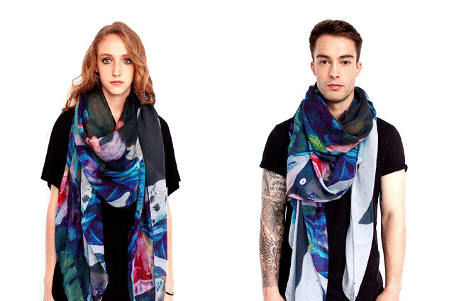 iHeartBerlin x Front Row Society Scarf Collection