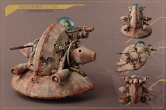 Maschinen Krieger: Hooverwen BZ 900 (: VolumeX :) Tags: japan painting toy lego madness custom mak yokoyama maschinenkrieger volumex customjob bz900 hooverwen