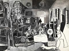 Picasso Black and White - Meninas