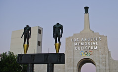 Los Angeles Memorial Coliseum (InSapphoWeTrust) Tags: california losangeles expositionpark 2012 losangelesmemorialcoliseum 1984summerolympics
