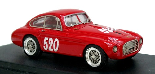 Jolly Model Ferrari 166 Zagato MM 1953