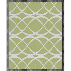 Dune Wool Rug in  Lime and Natural (on wood) (PURE Inspired Design) Tags: customfurniture organicfabric ecofriendlyfurniture woolrugs