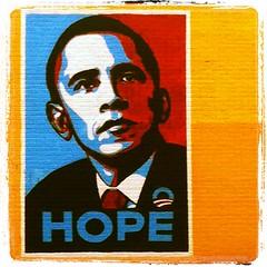 Obamania (Anna Grove) Tags: party usa america hope election mural texas president political politics houston presidential american vote democrat obama democratic debate barackobama yeswecan obamania obamanation