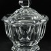 209. Baccarat Crystal Lidded Bowl