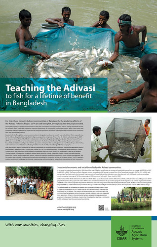 Teaching the Adivasi to fish for a lifetime of benefit in Bangladesh