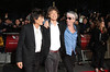 Ronnie Wood, Mick Jagger, and Keith Richards 56th BFI London Film Festival - 'The Rolling Stones: Crossfire Hurricane' - Gala Screening - Arrivals London, England