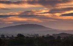 Wrekin dawn (Steve Bird1) Tags: mist clouds sunrise shropshire recession wrekin elementsorganizer