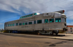 California Zephyr - Silver Horizon @ Maricopa Arizona (Loco Steve) Tags: arizona station amtrak maricopa californiazephyr silverhorizon cbq