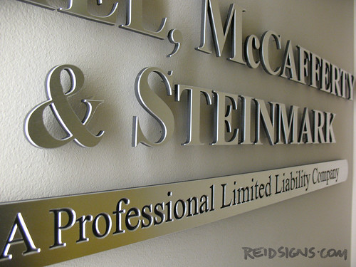 Office Projects by Reid Signs