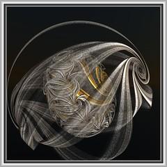Silver & Gold Filigree (bloorose-thanks 4 all the faves!!) Tags: digital 3d render fractal incendia