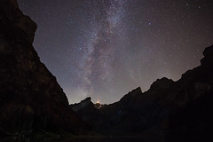 Milkyway - Seealpsee (Tobias Knoch) Tags: mountain mountains stars star schweiz long exposure mark iii explore valley l 5d usm 1740mm sterne sntis wasserauen seealpsee ebenalp appenzellinnerrhoden schwende milchstrase mglisalp