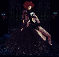 From the ashes of hate, it's a cruel demon's fate (|| S u r i || /// (flaunt) /// Gone) Tags: fashion blog fair sl secondlife costumeball gizza handverk delmay lelutka larahurley thebunnehfiles