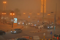 Sand Storm (AKPhotoPro) Tags: city travel storm weather sand asia east sandstorm saudi arabia middle riyadh