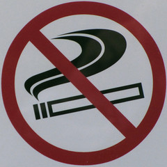 No smoking (Leo Reynolds) Tags: sign canon iso100 is powershot squaredcircle f56 signsafety signno sx210 002sec hpexif signnosmoking signcirclebar xleol30x sqset085