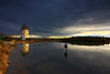 (Cani Mancebo) Tags: españa sunrise spain molino explore murcia amanecer sanpedrodelpinatar explored canimancebo