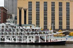 American Queen (gamelaner) Tags: minnesota river stpaul mississippiriver steamboat saintpaul americanqueen