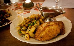 Jalepeno Schnitzel at Frankfurter Haus - Idstein, Germany (ChrisGoldNY) Tags: travel food cooking dinner germany deutschland juicy yummy potatoes bars europa europe european forsale meals restaurants eu tasty best meat international viajes german posters albumcover alemania plates bookcover dishes pubs vacations sauces jalapeno bookcovers schnitzel albumcovers gasthaus eater deutsche breaded platos gridskipper gastropub idstein deutscheland jaunted favoritemeals frankfurterhaus chrisgoldny chrisgoldberg chrisgold chrisgoldphoto chrisgoldphotos