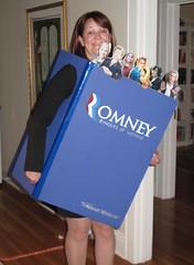 ROMNEY Binders of Women (hmdavid) Tags: halloween costume women 2012 romney binders