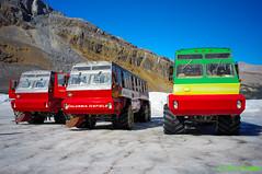 Glacier Transportation (Roy Prasad) Tags: leica mountain snow canada ice landscape sony hill columbia glacier alberta banff prasad icefield columbiaicefield nex 5n superelmar royprasad nex5n