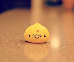 lemony goodness (Strawberry♥Cuteness) Tags: yellow japan japanese kawaii figure onsen mustache rare kun manju