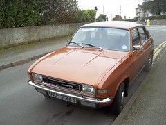 Austin Allegro 1300 Super. (occama) Tags: old uk classic car bronze austin gold cornwall super retro 1978 1977 reg registration cornish 1300 allegro pldtimer uaf224s