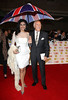 Bruce Forsyth and wife Wilnelia The Daily Mirror Pride of Britain Awards 2012 London