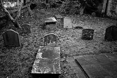 Ghost Story (Kyre Wood) Tags: house halloween bath tombstone haunted ghosts cracked greveyard