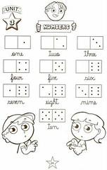Numbers Exercises. (Atividades Educação Infantil) Tags: números 1001maneirasdealfabetizar atividadesdeinglês