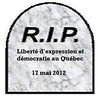 "rip_liberté_expression <a style=""margin-left:10px; font-size:0.8em;"" href=""http://www.flickr.com/photos/78655115@N05/8148533702/"" target=""_blank"">@flickr</a>"