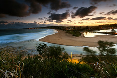 A view over North Narrabeen and beyond (sachman75) Tags: longexposure sunset beach water clouds coast sand waves sydney lakes coastal nsw northernbeaches canon1740mmf4 northnarrabeen canon5dmarkii singhrayreversendgrad3stops leefiltersndgrad3stops