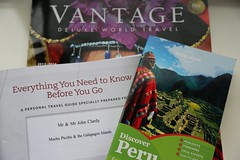 Guess Where We're Going Next? (Jill Clardy) Tags: world travel peru machu picchu ecuador tour galapagos 100views guide day5 brochure itinerary vantage 05jan13 day5365 3652013 365the2013edition 4b4a9237