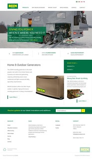Beem Outdoors - Homepage (in progress)
